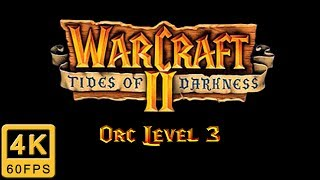 Walkthrough of the Orc Campaign of Warcraft II: Tides of Darkness in English. The game is a PC (also available on Mac, Saturn and PS1) classic released 1995 ...