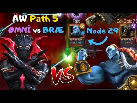 Crazy! Symbiote Supreme Vs Node 29 Champion! Aw Path 5 ØmnÎ Vs BrÆ - Marvel Contest Of Champions