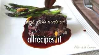 Videoricetta: filetto al vino rosso