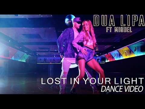 Dua Lipa - Lost In Your Light feat. Miguel (Official Dance Video) | Mandy Jiroux