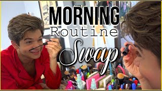 "Morning routine videos are some of the most viewed and fun videos to watch on the internet. What happens when this brother and his sister SWAP routines? In this Morning Routine Swap you see my brother and I struggle to perform each others daily tasks. Give it a like so Chandler will stay on my channel lol.Subscribe so you don't miss another one of Chelsea's videos at http://www.youtube.com/user/beautyliciousinsider?sub_confirmation=1PRE ORDER MY BOOK ""Your Own Beautiful"" NOW!Amazon: http://amzn.to/2nNV7uYBarnes & Noble: http://bit.ly/2ni4zchBooks-A-Million: http://bit.ly/2moGamdChristianBook.com: http://bit.ly/2nGgEZIGoogle: http://bit.ly/2mLAoGpiBooks: http://apple.co/2nidmuOTarget: http://bit.ly/2nhZnVWWebsite: www.chelseacrockett.comYouTube: www.youtube.com/beautyliciousinsiderInstagram: http://instagram.com/chelseakaycrockettFacebook:https://www.facebook.com/ChelseaKCrockettTwitter: https://twitter.com/ChelseaCrockettGoogle +: https://plus.google.com/u/0/+BeautyLiciousInsider/postsPintrest: http://www.pinterest.com/liciousinsider/PLAYLISTSHair tutorials for short, medium, and long hair!https://www.youtube.com/playlist?list=PLD9815B8CD82F1DA8Buzzfeed videos! Trying my favorite Buzzfeed recipes and DIY life hacks!https://www.youtube.com/playlist?list=PLb4fP1nCr2FrWViROJS6Sn8bu4cJFh5c0Buy and Try Beautyliciousinsider!  This is my own series I created and produce myself!https://www.youtube.com/playlist?list=PL32314C6EA697A318Periods 101 for girls! #periodtalkhttps://www.youtube.com/playlist?list=PLb4fP1nCr2FrRcuupJPl8PkQsC4rlgjrmChristian teen advice! Relationships, friends, my testimony, morals, and much more!https://www.youtube.com/playlist?list=PLb4fP1nCr2FoFkQA_oBFKDLK1MtiZS-VeMakeup tutorials for beginners, experts, and everyone in-between.  Experience the power of makeup!https://www.youtube.com/playlist?list=PLF43D1AAB06AE5ECBDIY projects for teenagers!https://www.youtube.com/playlist?list=PLb4fP1nCr2FpedYsgPq3WlhNGkKPVvwSwAll things routine! Morning routine, night routine, routine for school, and much more!https://www.youtube.com/playlist?list=PL64C9CC0AB1E5E3BECollab channel with a few of my favorite YouTubers!https://www.youtube.com/playlist?list=PLb4fP1nCr2FpGoFzwlIIm5ZU2xXeMRMi8Meet my brother Chandler Crockett!https://www.youtube.com/playlist?list=PLb4fP1nCr2FrGCzvK_ompK69dYkZvYkCtBUSINESS ONLY EMAIL - beautyliciousinsider@gmail.comGo visit our family YouTube Channel - Toy Starhttps://www.youtube.com/channel/UCF5ehGiQ69cnsgCvDkv7HGASEND ME MAIL:Chelsea Crockett17 Junction Dr.Suite 200Glen Carbon, IL 62034FTC: Not a sponsored video!"