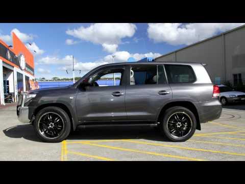 Toyota Landcruiser custom rims 22 inch Elite Carnal wheels
