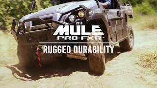 6. 2018 Kawasaki MULE PRO-FXR | Durability
