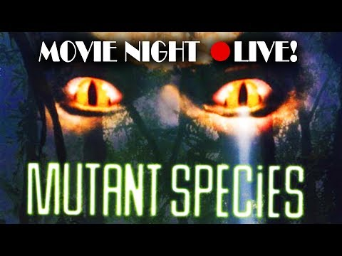 """MUTANT SPECIES"" (sci-fi / Action, 1995) - LIVE MST3k-style Commentary (full Movie!)"