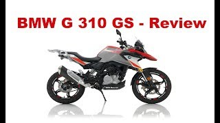 9. BMW G 310 GS -Test Ride & Review