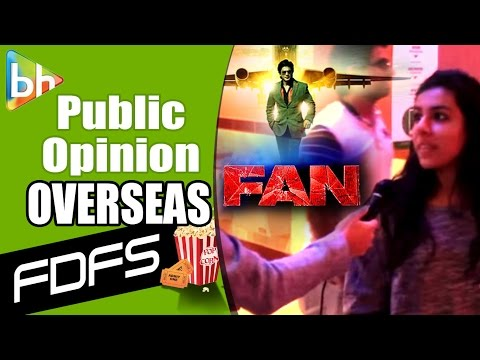 First Day First Show Of 'Fan' In Washington DC & N