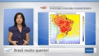 O início de 2014 está sendo marcado por calor intenso em todo o Brasil. Nesta sexta-feira, São Paulo e Rio de Janeiro ficam em...