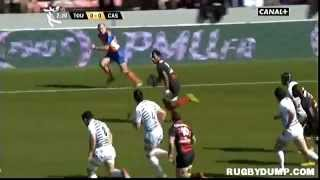 Castres France  City new picture : Tries in France 2011 2012 day 20 Toulouse - Castres