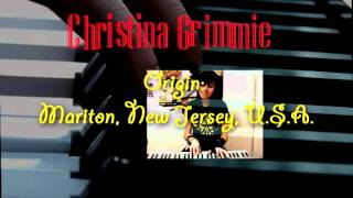 mp3 versions of Christina's music can be found at:http://amzn.to/1itnlzCYoutube superstar Christina Grimmie joins the Voice.