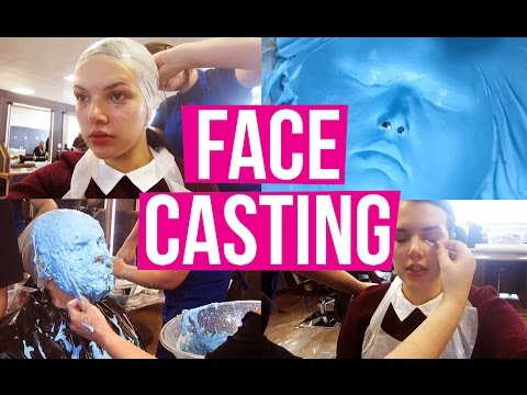 cast - I GOT MY FACE CAST! My friend's using me for her prosthetics/special FX exam. I've always wanted to get my face cast, so this is one to tick off the bucket list! :D ▻ SUBSCRIBE FOR MORE ▻...