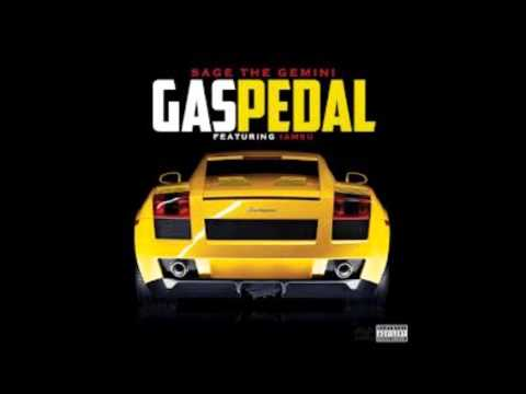 Gas Pedal Ft. IamSu (CLEAN) - Sage The Gemini