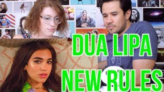 Video DUA LIPA - NEW RULES - REACTION!! MP3, 3GP, MP4, WEBM, AVI, FLV Desember 2018
