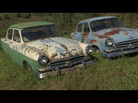 Απομεινάρια σοβιετικού παρελθόντος σε αυτοσχέδιο μουσείο αυτοκινήτων…