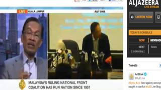 Anwar Ibrahim in Al Jazeera Live 3 April 2013