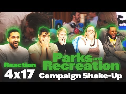 Parks and Recreation - 4x17 Campaign Shake-Up - Group Reaction