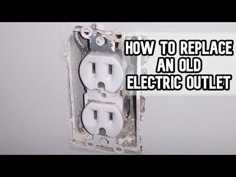 How To Replace An Old Electric Outlet DIY Video | #diy #outlet