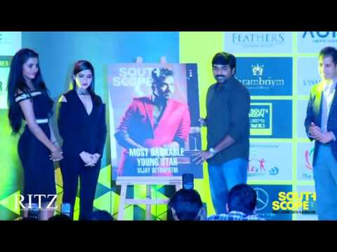 Vijay Sethupathi honoured with the title of Most Bankable Young Star