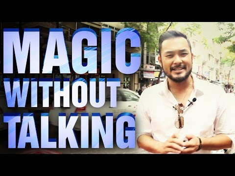 Free Magic Tricks: Magic Without Talking ft Petey Majik