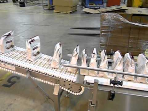Ergopack Candy Bags In-Feed Incline Hand Packing Station