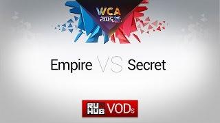 Secret vs Empire, game 1