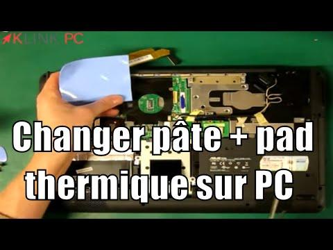 comment appliquer pate thermique pc portable