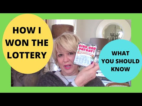 Letting Go Manifests What You Desire. How I Won The Lottery