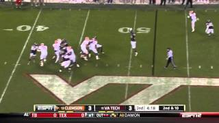 Dwayne Allen vs Virginia Tech 2011
