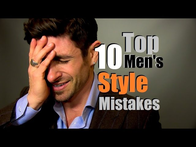 Top 10 Mens Style Mistakes Most Common Style Mistakes How ...