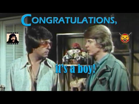 Congratulations, It's A Boy! (1971) - Bill Bixby, Darrell Larson, Jack Albertson