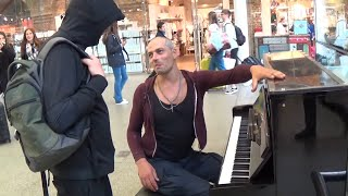 Video Tough Guy on Piano  Is Asked To Play Mary Poppins MP3, 3GP, MP4, WEBM, AVI, FLV November 2018