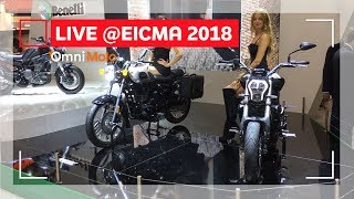 Benelli 752 S, Imperiale 400 e 502 C | EICMA 2018 - Video Novità