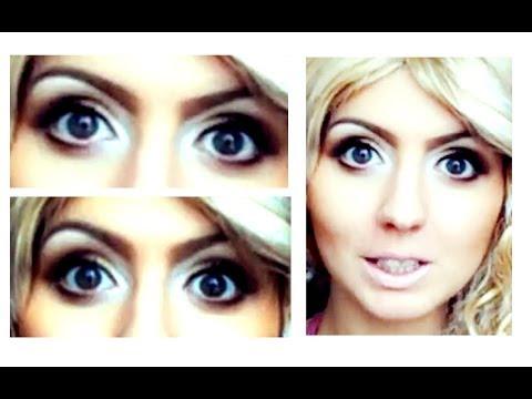 Как сделать больше глаза при помощи макияжа