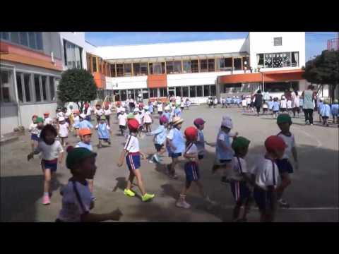 笠間 友部 ともべ幼稚園 子育て情報「運動会後の3分間マラソン」