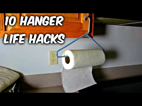 10 Hanger Life Hacks