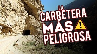 CARRETERA MÁS PELIGROSA DEL MUNDO / RICOSUAVE EN MOTOCICLETA
