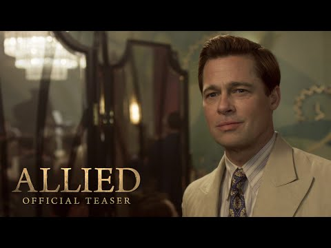 Brad Pitt Falls in Love During WWII in New 'Allied' Trailer