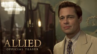 Nonton Allied Teaser Trailer  2016    Paramount Pictures Film Subtitle Indonesia Streaming Movie Download