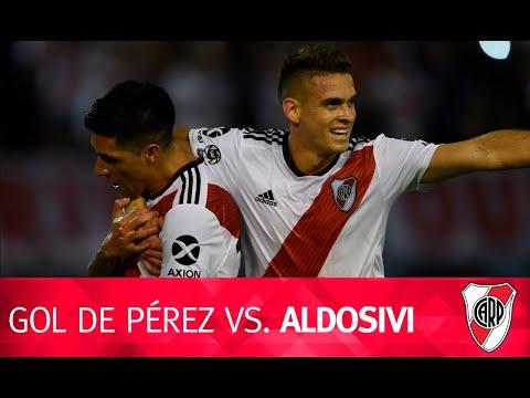 Gol de Enzo Pérez vs. Aldosivi