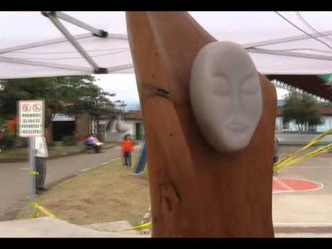 Simposio escultura Barva 2011 , Heredia Sabina – Ay Carmela