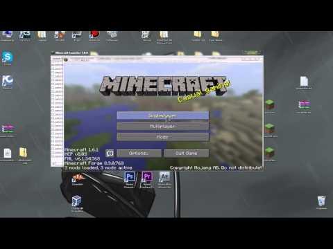 MineCraft {1.6.1} [Туториал] - установка forge и modloader и запуск клиента