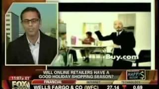 Neel Grover (Buy.com CEO) on Fox Business News on Black Friday 2009