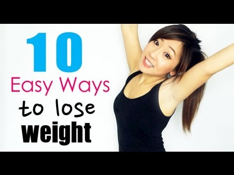 how to lose weight healthy - Hi everyone, It's that time of the year again where we all want to get fit for the warmer season. Today, I'm going to share 10 easy but effective ways to hel...