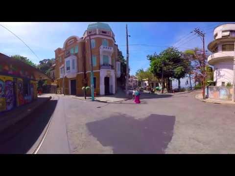 Vídeo 360° da viagem dos bondes entre os Largos da Carioca e dos Guimarães