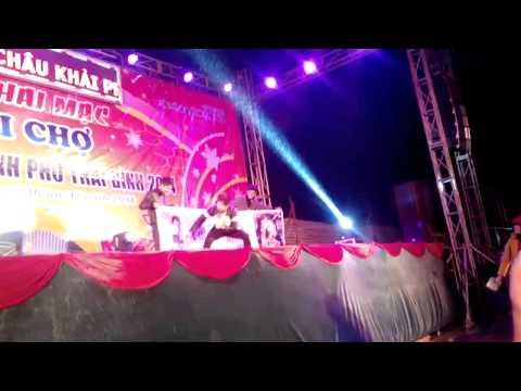 Lâm chấn huy - liên khúc - hội chợ xuân TP Thái Bình 2015