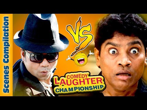 Johnny Lever Comedy Scenes VS Rajpal Yadav Comedy Scenes (HD) - Comedy Laughter Championship