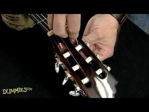 Video How to String a Nylon-String Guitar For Dummies download in MP3, 3GP, MP4, WEBM, AVI, FLV January 2017