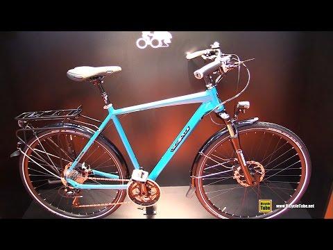 2016 Velo De Ville A700 Premium Trekking Bike - Walkaround - 2015 Eurobike