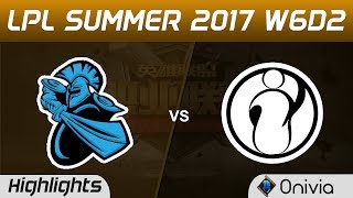 NB vs IG Highlights Game 2 LPL SUMMER 2017 NewBee vs Invictus Gaming by Onivia Make money with your LoL knowledge...