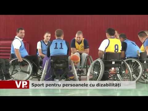 Sport pentru persoanele cu dizabilități