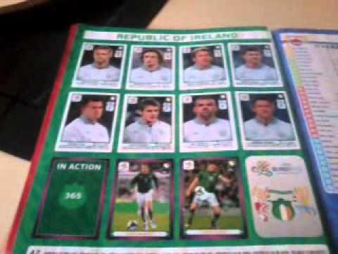 Moja Kolekcja Naklejek Euro 2012 Cz2 Karty Panini Euro 2012